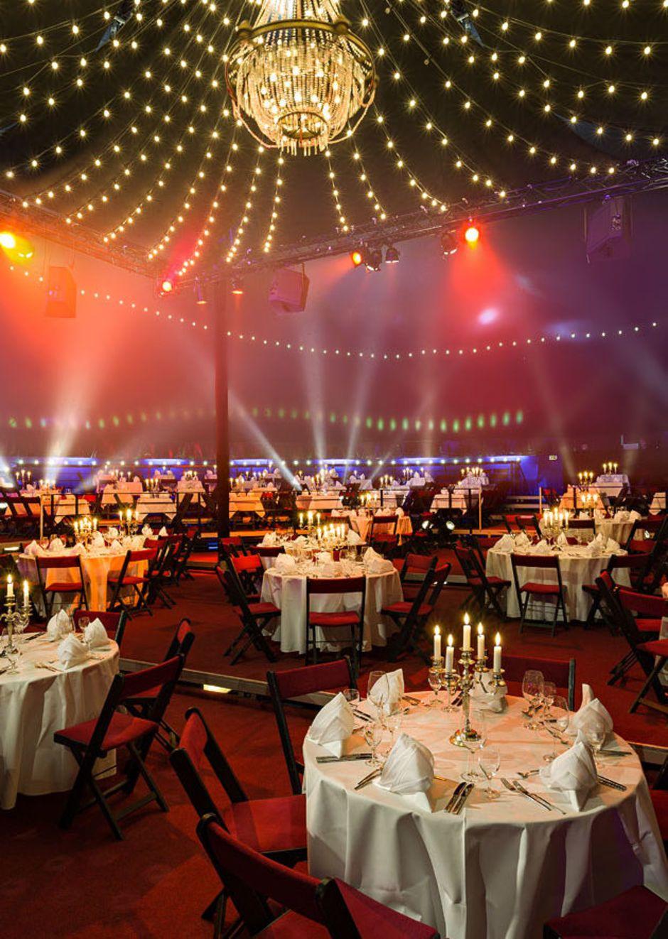 Die Eventlocation bietet Platz für 200 bis 800 Gäste