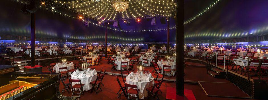Das Tipi am Kanzleramt Berlin bietet als Eventlocation höchste Flexibilät für Ihr Event